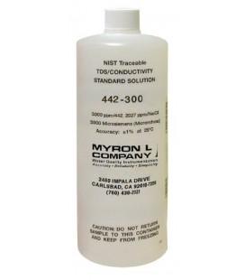Solución Calibración Conductividad MyronL 442-300