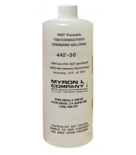 Solución Calibración Conductividad MyronL 442-30