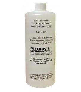 Solución Calibración Conductividad MyronL 442-15