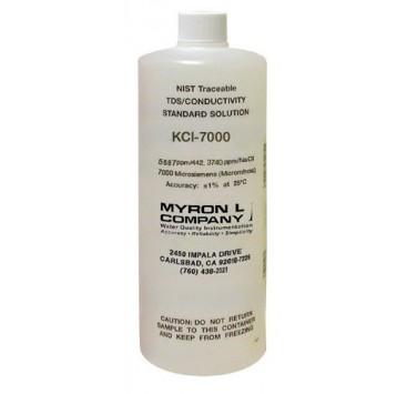 Solución Calibración Conductividad MyronL KCl-7000
