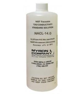 Solución Calibración Resistividad MyronL NACL-14.0