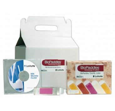 Kit de estudio de cultivos bacterianos Lamotte 5560