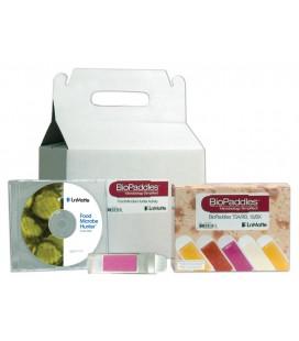 Kit de estudio de bacterias en los alimentos Lamotte 5565