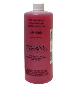 Solución Calibración pH 4 MyronL