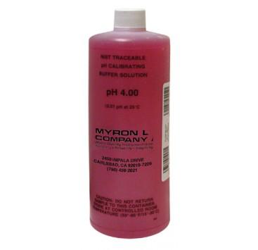 Solución Buffer pH 4