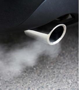 Análisis de los gases de escape de un coche